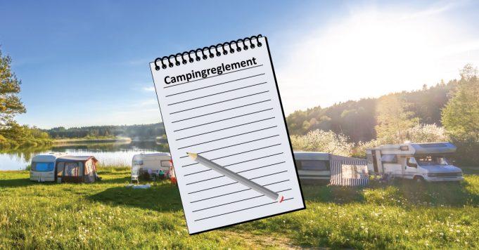 campingreglement, erhvervsministeriet