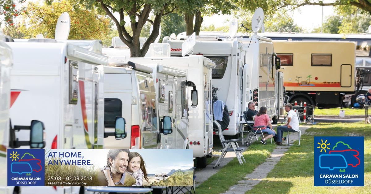 caravan salon 2018 verdens st rste campingmesse bner. Black Bedroom Furniture Sets. Home Design Ideas