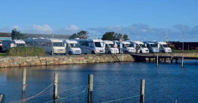 autocamperplads, indvielse, asaa havn
